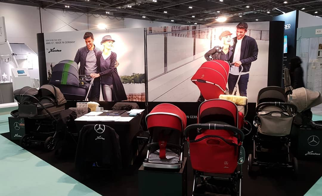 Stand at The Baby Show Excel